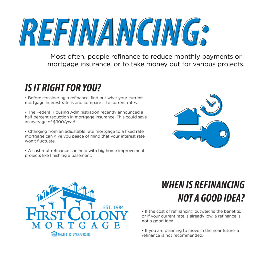refinancing is it right for you first colony. Black Bedroom Furniture Sets. Home Design Ideas
